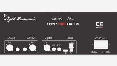 Galileo DE 후면 패널은 이렇게